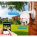 Поворотная уличная WIFI IP видеокамера FULL HD, 1080p