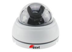 EVC-NK20-S13-A купольная IP видеокамера, 1.3Мп, f=2.8-12мм, аудио вход