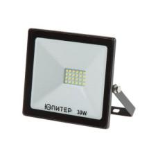 Прожектор светодиодный 30 Вт 6500K ЮПИТЕР (2400 лм, холодный белый свет) (JP1201-30)