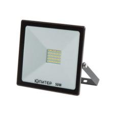 Прожектор светодиодный 50 Вт 6500K ЮПИТЕР (3800 лм, холодный белый свет) (JP1201-50)