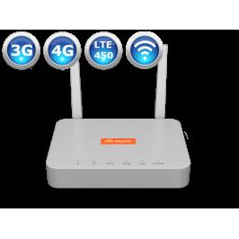 Комплект для интернета, роутер Skylink V-FL500