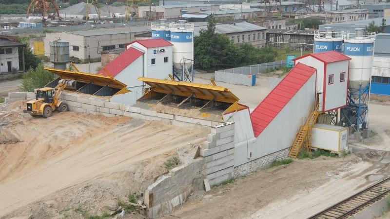 Видеонаблюдение бетонного завода